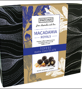 Royals Box Chocolate Macadamia Dark