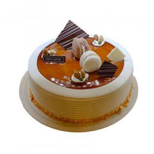 Tous Les Jours Caramel Mocha Cake Vietnam